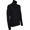 Icebreaker M's Tech Top LS Half Zip Black (001)